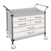 SERVICE CARTS WITH DRAVERS